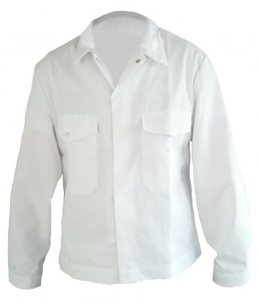 Herren Schreinerjacke Tischlerjacke Arbeitsjacke weiß