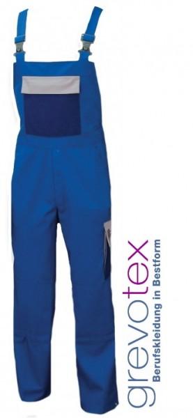 Latzhose Arbeitshose Berufshose Herren blau grau marine mit Knietaschen