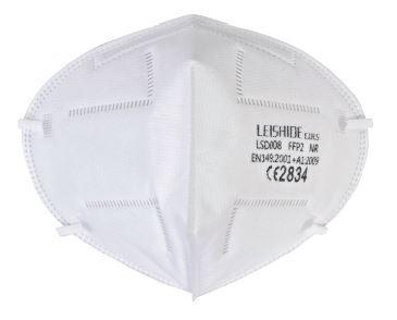 FFP2 flachgefaltete Atemschutzmaske