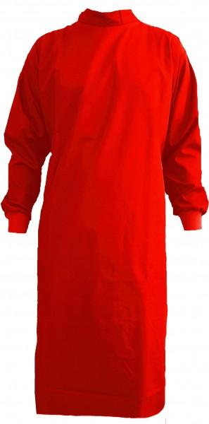 Wickelmantel 65% Polyester/35% Baumwolle rot