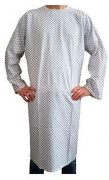 Krankenhemd Pflegehemd Nachthemd Patientenhemd