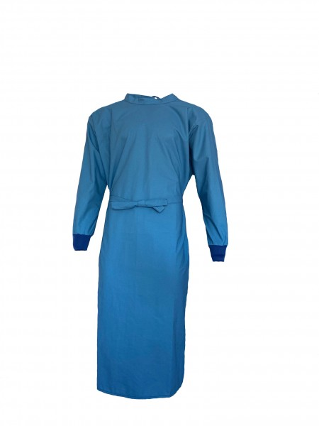 OP-Mantel 50% Polyester / 50% Baumwolle hellblau