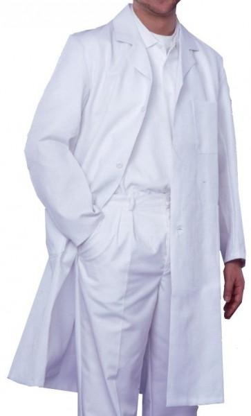 Herren Arztmantel Labormantel langarm RALF Reverskragen 100% Baumwolle