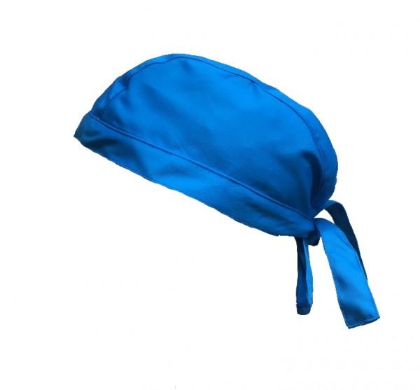 Stoffhaube Mütze Kopfbedeckung Arzt-Haube, Arztpraxis hellblau