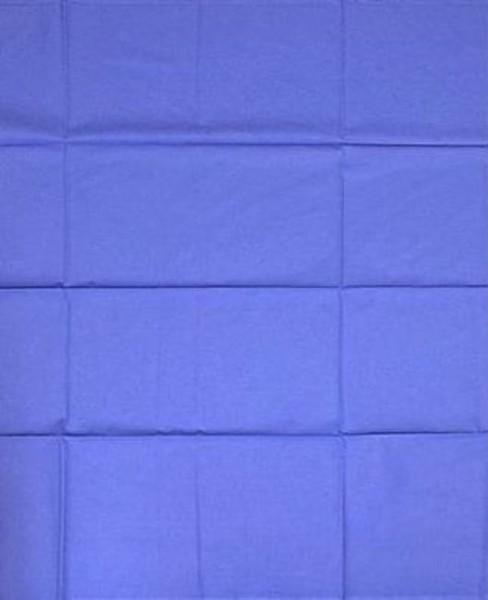 Abdecktuch blau Mischgewebe