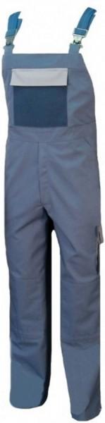 Latzhose Arbeitshose Berufshose Herren blaugrau nachtblau schiefer mit Knietaschen