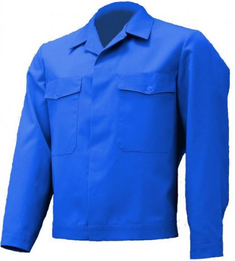 Herren Bundjacke Arbeitsjacke Blau