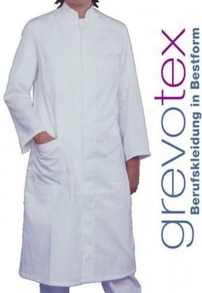 Damen Arztmantel Labormantel langarm JUDY Stehkragen weiß 50% Baumwolle/50% Polyester