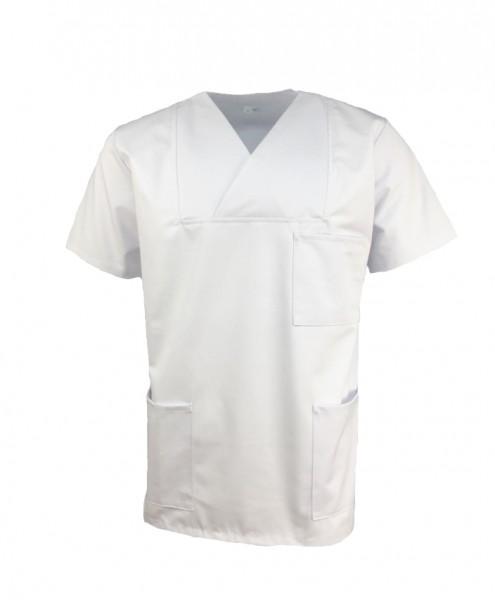 Kasack Arzthemd OP-Hemd weiß