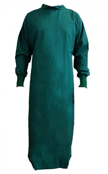 Wickelmantel 65% Polyester/35% Baumwolle grün