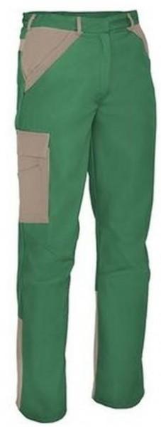 Herren Bundhose mit Knietaschen Arbeitshose Grün Khaki