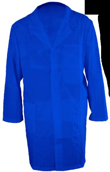 Herren Arbeitsmantel Arbeitskittel Berufsmantel Blau