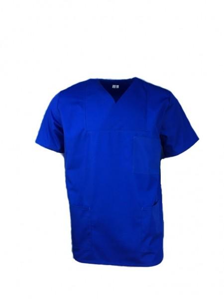 Kasack Arzthemd OP-Hemd blau