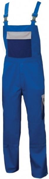 Latzhose Arbeitshose Berufshose Herren blau grau marine
