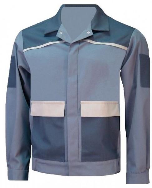 Herren Bundjacke Arbeitsjacke Berufsjacke blaugrau nachtblau schiefer