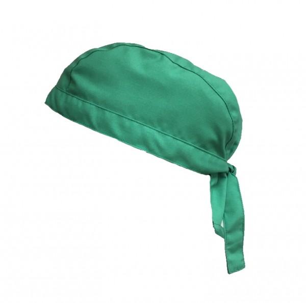 Stoffhaube Mütze Kopfbedeckung Arzt-Haube, Arztpraxis grün