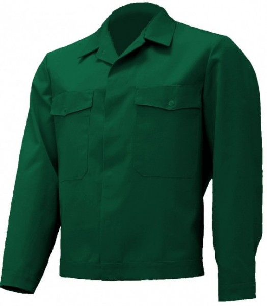 Herren Schreinerjacke Tischlerjacke Arbeitsjacke dunkelgrün