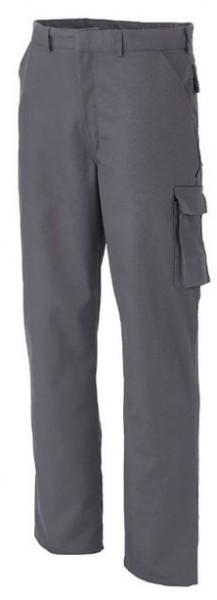 Herren Bundhose mit Knietaschen Arbeitshose Grau
