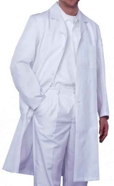 Herren Arztmantel Labormantel langarm RALF Reverskragen 50% Baumwolle/50% Polyester
