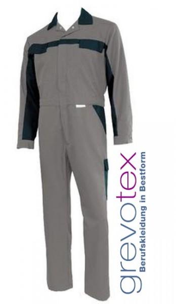 Herren Overall Arbeitskleidung Berusfkleidung Blaumann grau schwarz