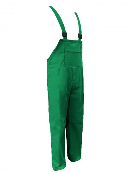Metzgerhose Fleischerhose Latzhose Herren HACCP grün