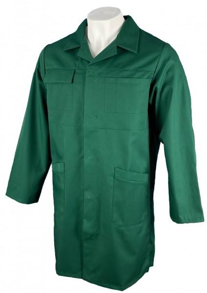 Herren Arbeitsmantel Berufsmantel dunkelgrün