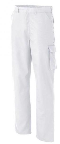 Herren Bundhose mit Knietaschen Arbeitshose Weiß
