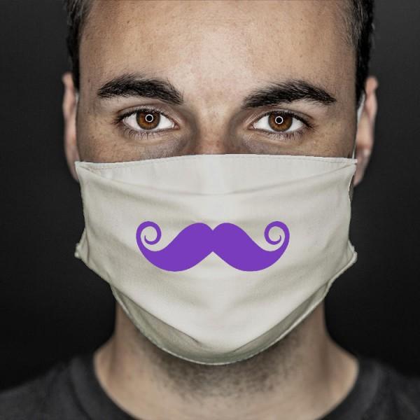 Mund- und Nasenabdeckung sand Bart