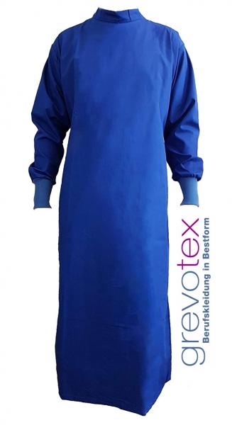 Wickelmantel 50% Polyester/ 50% Baumwolle blau