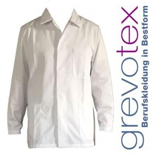 Herren Bundjacke Arbeitsjacke Weiß