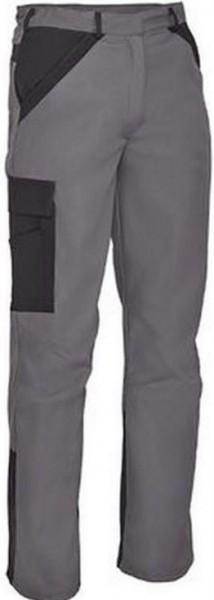 Herren Bundhose mit Knietaschen Arbeitshose Grau Schwarz