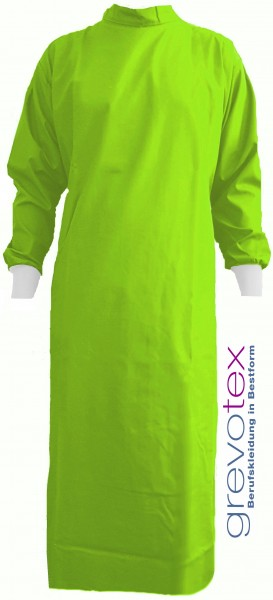 Wickelmantel 50% Polyester/50% Baumwolle apfelgrün